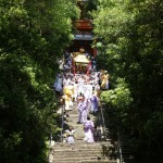 Festival that has been held since the age of Shogun Tokugawa Yoshimune (bring down mikoshi portable shrine from Toshogu Shrine)
