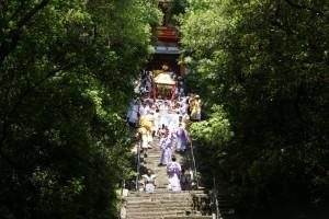 德川吉宗時期流傳至今的祭典 東照宮神轎出巡