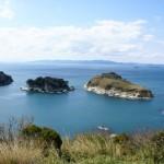 후타고지마 섬, 반도코 정원(접골원에서 자동차로 10분)